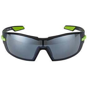 Kask KOO Sonnenbrille inkl. 2 Gläser Smoke und Clear schwarz/grün
